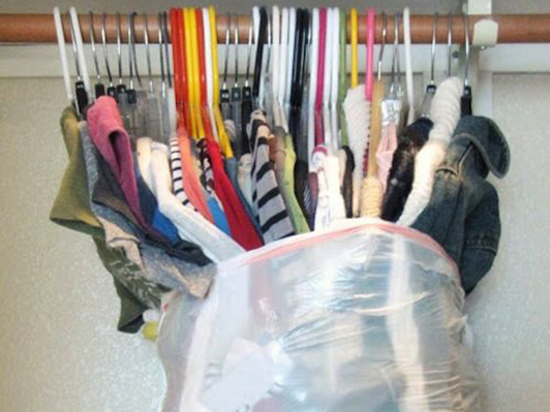 Clothes in Bags
