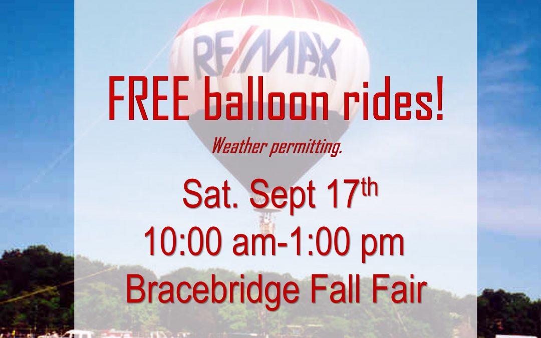 Fall Fair Ballooning