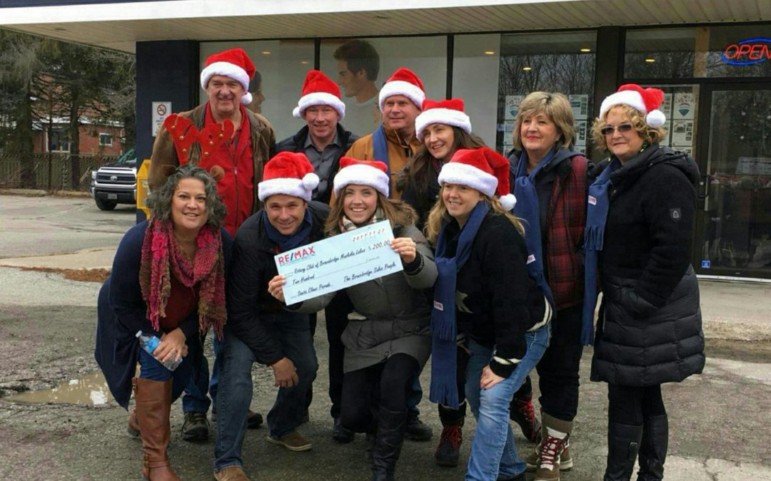 Bracebridge Parade Donation
